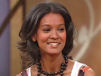 Ethiopian supermodel Liya Kebede