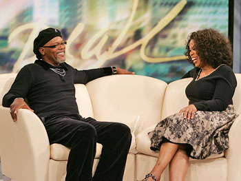 Samuel L. Jackson and Oprah