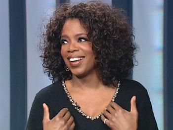 Oprah shares an embarrassing moment.