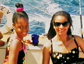 Child star Jaimee Foxworth and her mother