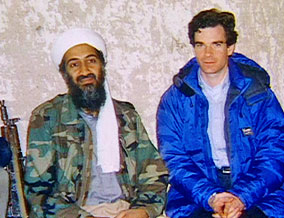 Peter with Osama
