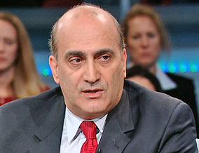 Dr. Walid Phares, a professor of Middle East studies