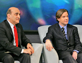 Terrorism experts Dr. Walid Phares and Peter Bergen