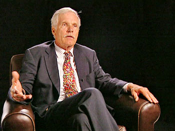 Business mogul Ted Turner