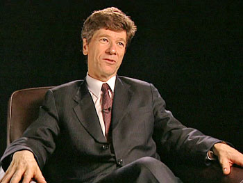 Global economist Jeffrey Sachs