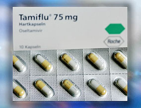 Tamiflu, an influenza medication
