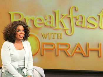 Oprah's breakfast party