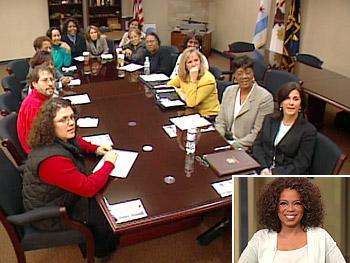 Oprah surprises her fans