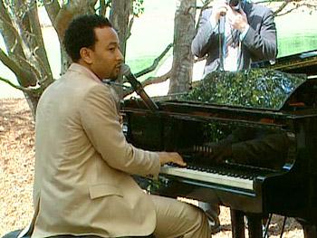 John Legend at Oprah's Legends luncheon