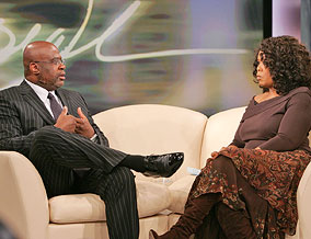 Christopher Darden and Oprah