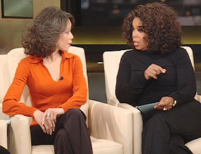 Dr. Robin and Oprah