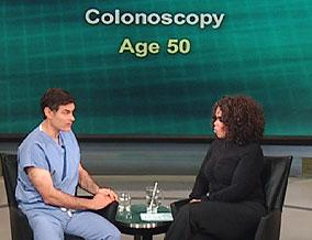 Dr. Mehmet Oz and Oprah Winfrey