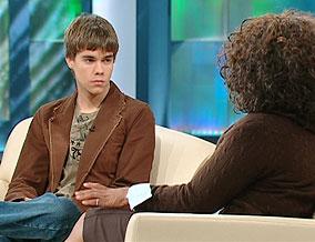 Justin and Oprah