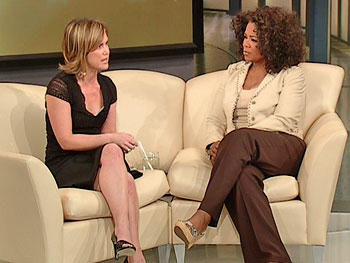 Tracey Gold and Oprah