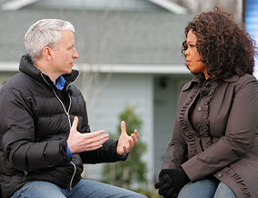 Oprah and Anderson Cooper