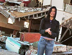 Lisa Ling in Pass Christian, Mississippi