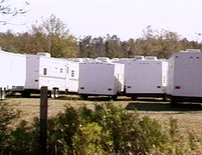 Unused FEMA trailers
