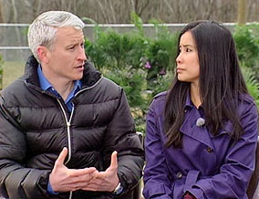 Anderson Cooper and Lisa Ling
