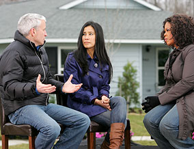 Anderson Cooper, Lisa Ling and Oprah