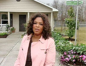 Oprah on Angel Lane