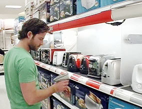 Nate at Target
