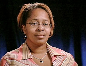 Melissa, a survivor of Hurricane Katrina
