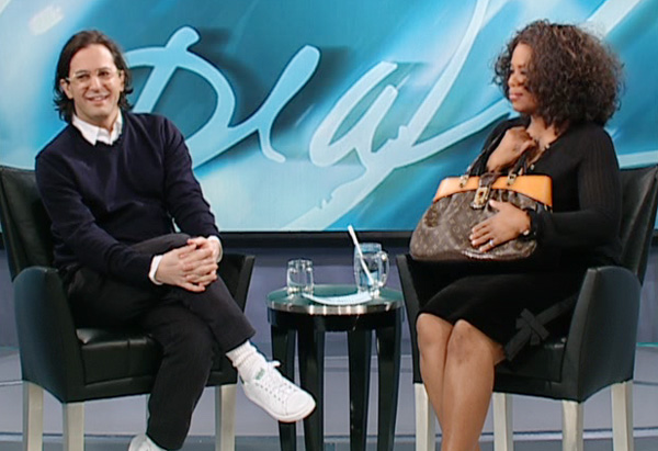 Oprah and Marc Jacobs