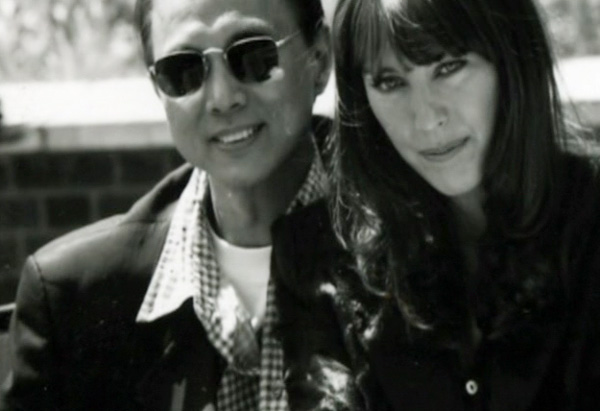 Jimmy Choo and Tamara Mellon