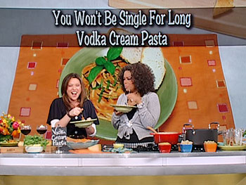 Rachael Ray shares her recipe for vodka cream pasta