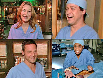 'Grey's Anatomy' stars Ellen Pompeo, T.R. Knight, Justin Chambers and Chandra Wilson