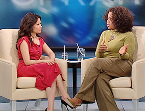 Lucy Liu and Oprah