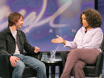 James Blunt and Oprah