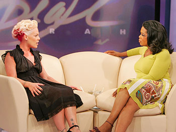 Pink and Oprah