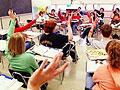 Crowded classroom