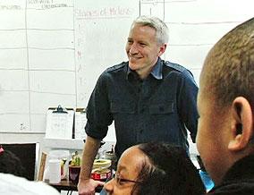 Anderson Cooper visits a KIPP classroom
