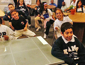 At a KIPP class in Washington, D.C.