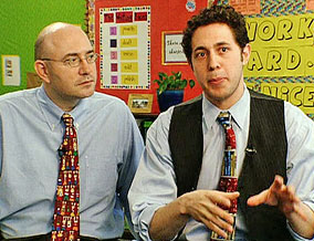 KIPP founders Mike Feinberg and Dave Levin