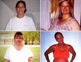 Cheryl, Nathalie, Karen and Andrea