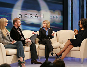 Alex, Morgan, Beth and Oprah