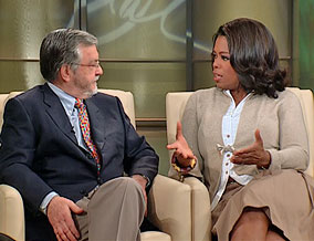 Dr. Harville Hendrix and Oprah Winfrey
