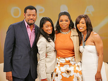 The stars of 'Akeelah and the Bee'