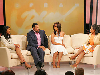 The cast of 'Akeelah and the Bee' with Oprah