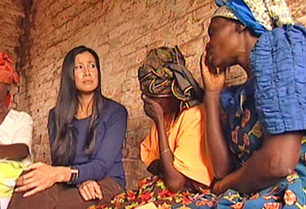 Lisa Ling in the Congo
