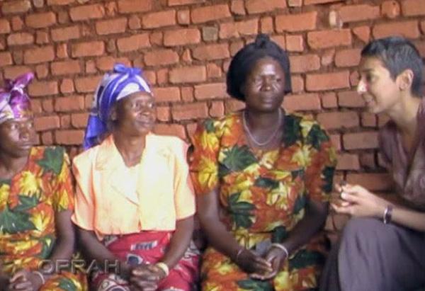 Congolese women and Zainab Salbi, Women for Women International