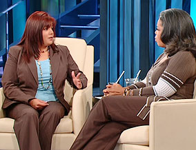 Lisa Duran and Oprah