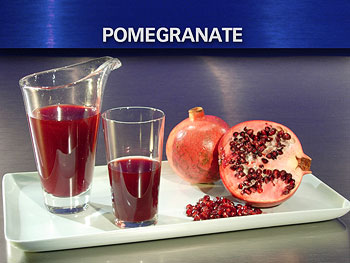 Dr. Oz says pomegranates are good for your heart.