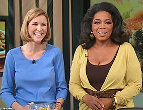 Oprah and Anna Ginsberg