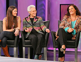 Margherita, Rosita and Angela Missoni