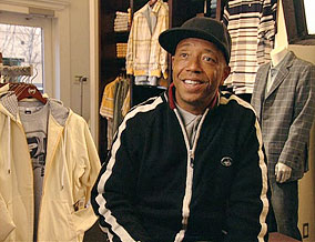 Russell Simmons, founder of Phat Farm clothes