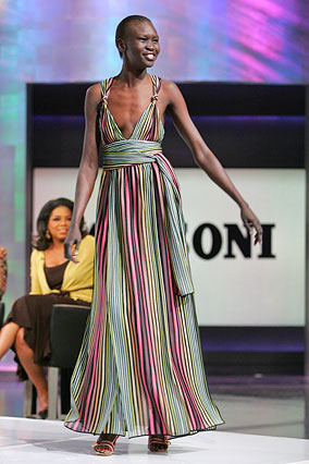 Striped dress by Missoni